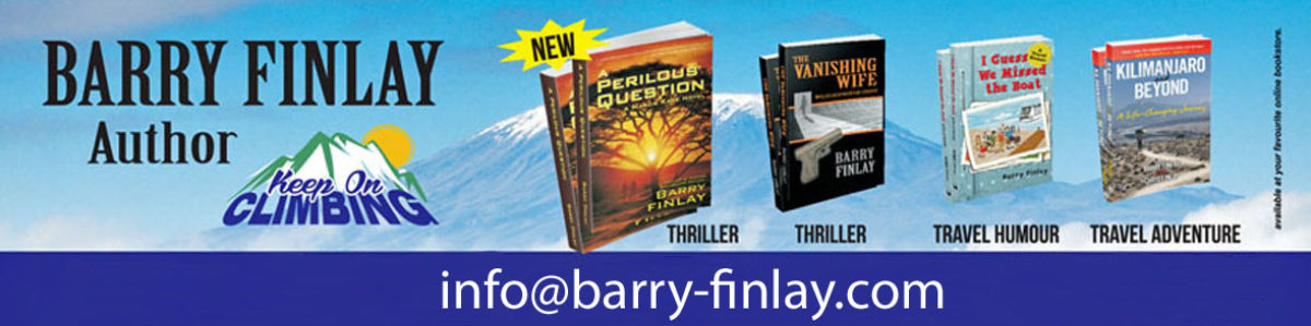 Barry Finlay – Author